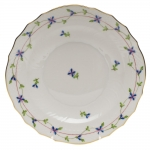 Blue Garland Salad Plate