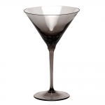 Pebbles Smoke Martini Glass
