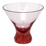 Pebbles Rosalin Stemless Martini Glass