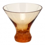 Pebbles Topaz Stemless Martini