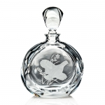 Upland Game Birds Quail Round Decanter