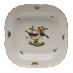 Rothschild Bird Square Fruit Dish