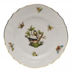 Rothschild Bird Bread and Butter Plate, Motif #2