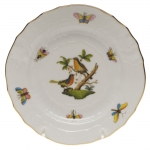 Rothschild Bird Bread and Butter Plate, Motif #8