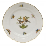 Rothschild Bird Bread and Butter Plate, Motif #9