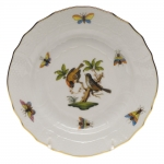 Rothschild Bird Bread and Butter Plate, Motif #12