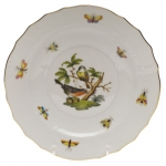 Rothschild Bird Salad Plate, Motif #2