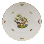 Rothschild Bird Dinner Plate, Motif #2