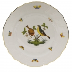 Rothschild Bird Dinner Plate, Motif #7