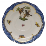 Rothschild Bird Blue Border Tea Cup Saucer - Motif #12