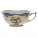 Rothschild Bird Blue Border Tea Cup - Motif #1
