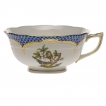 Rothschild Bird Blue Border Tea Cup - Motif #2