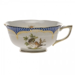 Rothschild Bird Blue Border Tea Cup - Motif #10