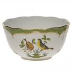 Rothschild Bird Green Border Round Bowl