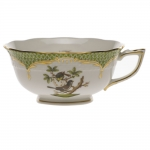 Rothschild Bird Green Border Tea Cup - Motif #1