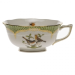 Rothschild Bird green Border Tea Cup - Motif #9