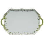Rothschild Garden Rectangular Tray with Branch Handles