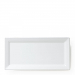 Diamond White Melamine Small Rectangular Platter