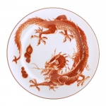 Red Dragon Bread and Butter Plate