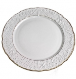 Simply Anna Polka Gold Service Plate