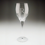 Personalized White Wine Glasses, Set of Four