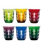 Set of Six Assorted Kawali Glasses