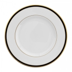 Signature Collection Gold and Black Dinner Plate