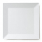 Diamond White Melamine Square Platter