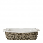 Waveney Wicker Square Baker Caddy