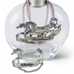 Horse Stride Decanter Label - Gin