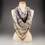 Equine and Oak Leaf Scarf