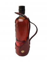 Custom Leather Bourbon Server - Bulleit