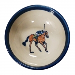 Unbridled Backstretch Cereal Bowl