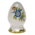 Queen Victoria Green Single-Hole Pepper Shaker