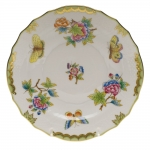 Queen Victoria Green Salad Plate