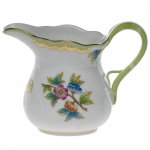 Queen Victoria Green 6 Ounce Creamer