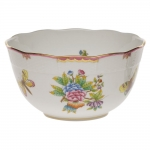 Queen Victoria Raspberry Round Bowl