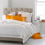 Lowell White King Fitted Sheet