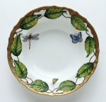 Ivy Garland Rim Soup Bowl