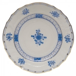 Blue Garden Bread and Butter Plate