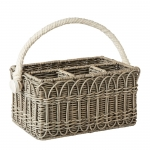 Waveney Wicker Utensil Caddy