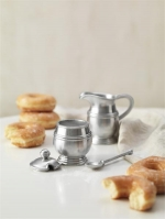 Classic Creamer and Sugar Set with Spoon