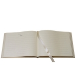 Calf Leather Guest Book
