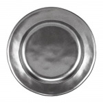 Pewter Stoneware Dessert or Salad Plate