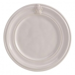 Acanthus Whitewash Side/Cocktail Plate