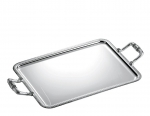 Malmaison Silver Plated Large Tray with Handles