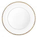 Aegean Filet Gold Dessert Plate