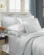 Alice Ivory King Coverlet