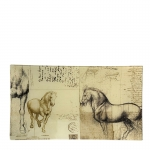 Anatomy of a Horse Rectangular Plate
