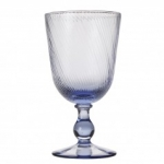Arabella Delft Blue Footed Goblet